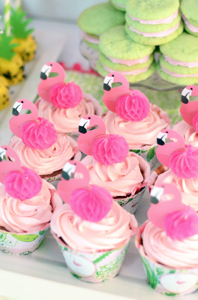 Flamingo And Pineapple First Birthday Party Ideas