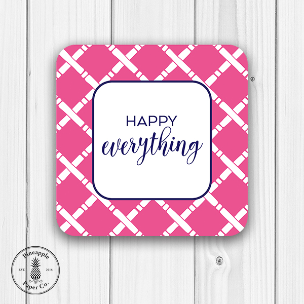 Happy Everything Coasters