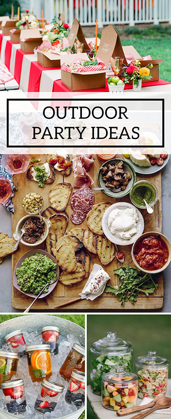 Outdoor Party Ideas For Your Next Backyard