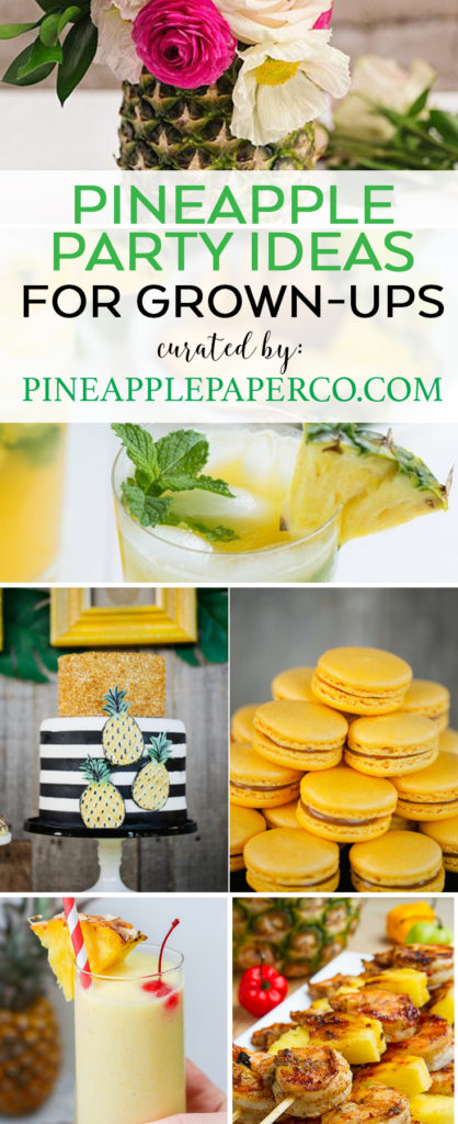 Pineapple Party Ideas curated by Pineapple Paper Co.