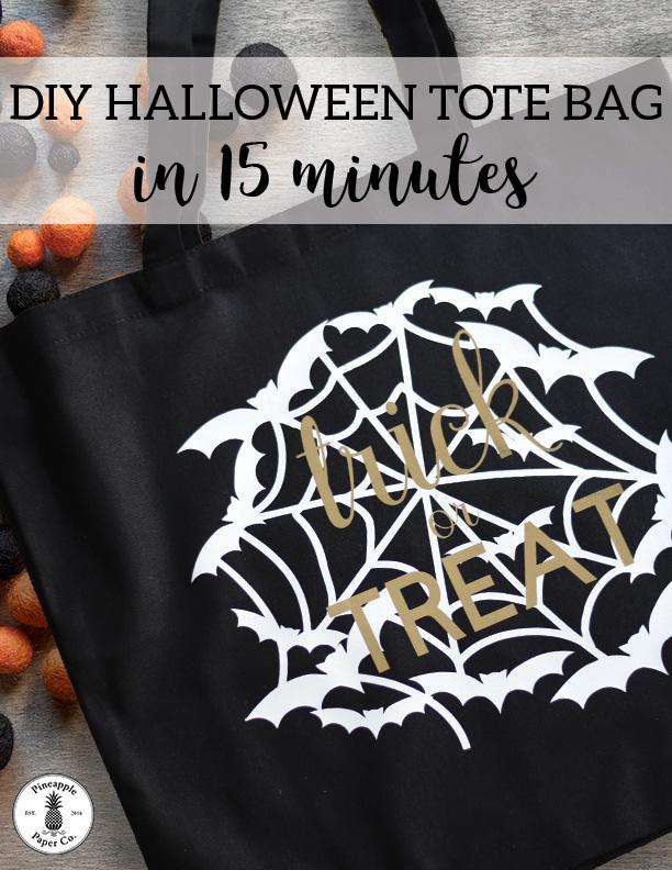 DIY Halloween Tote Bag