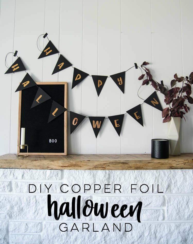 DIY Halloween Banner