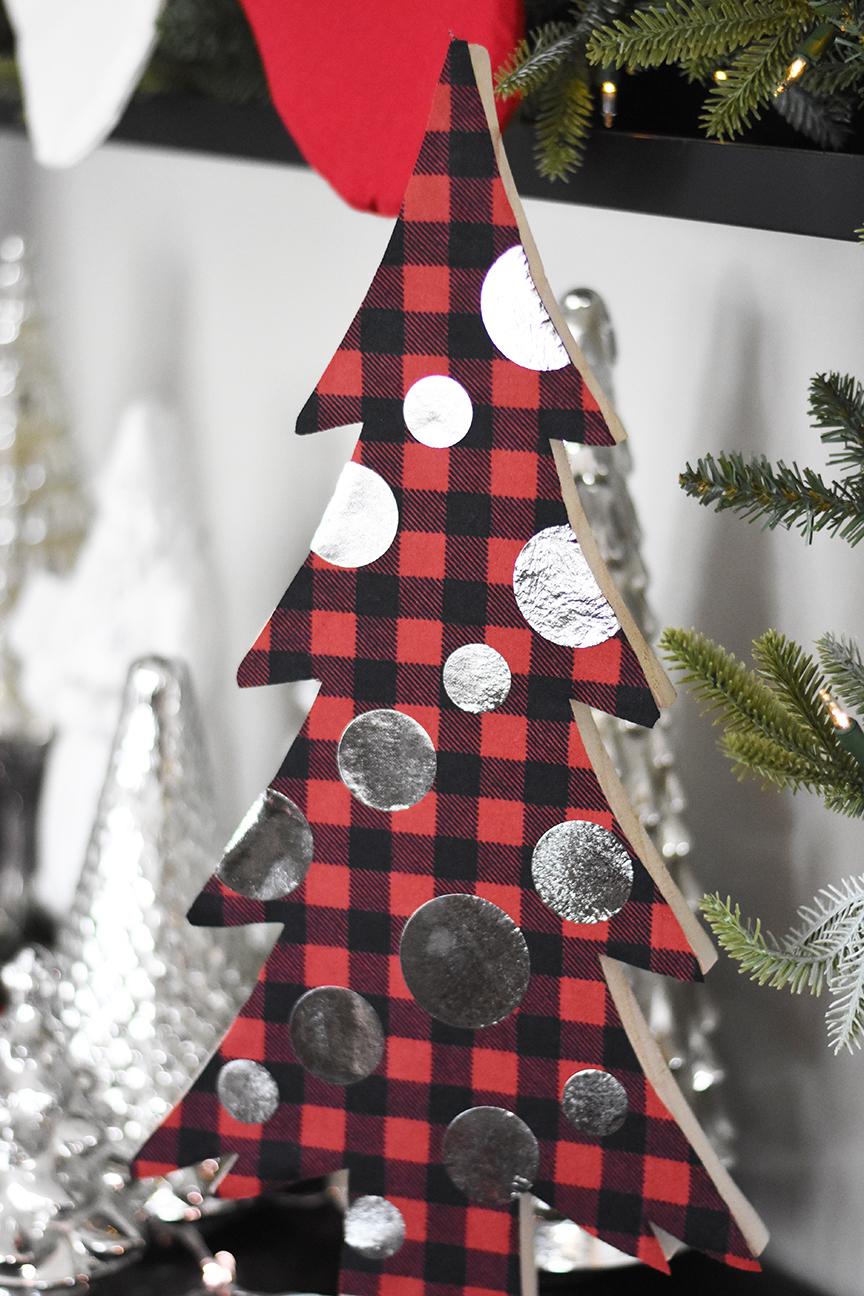 DIY Christmas Mantle Decor | Non-Traditional Mantle Ideas
