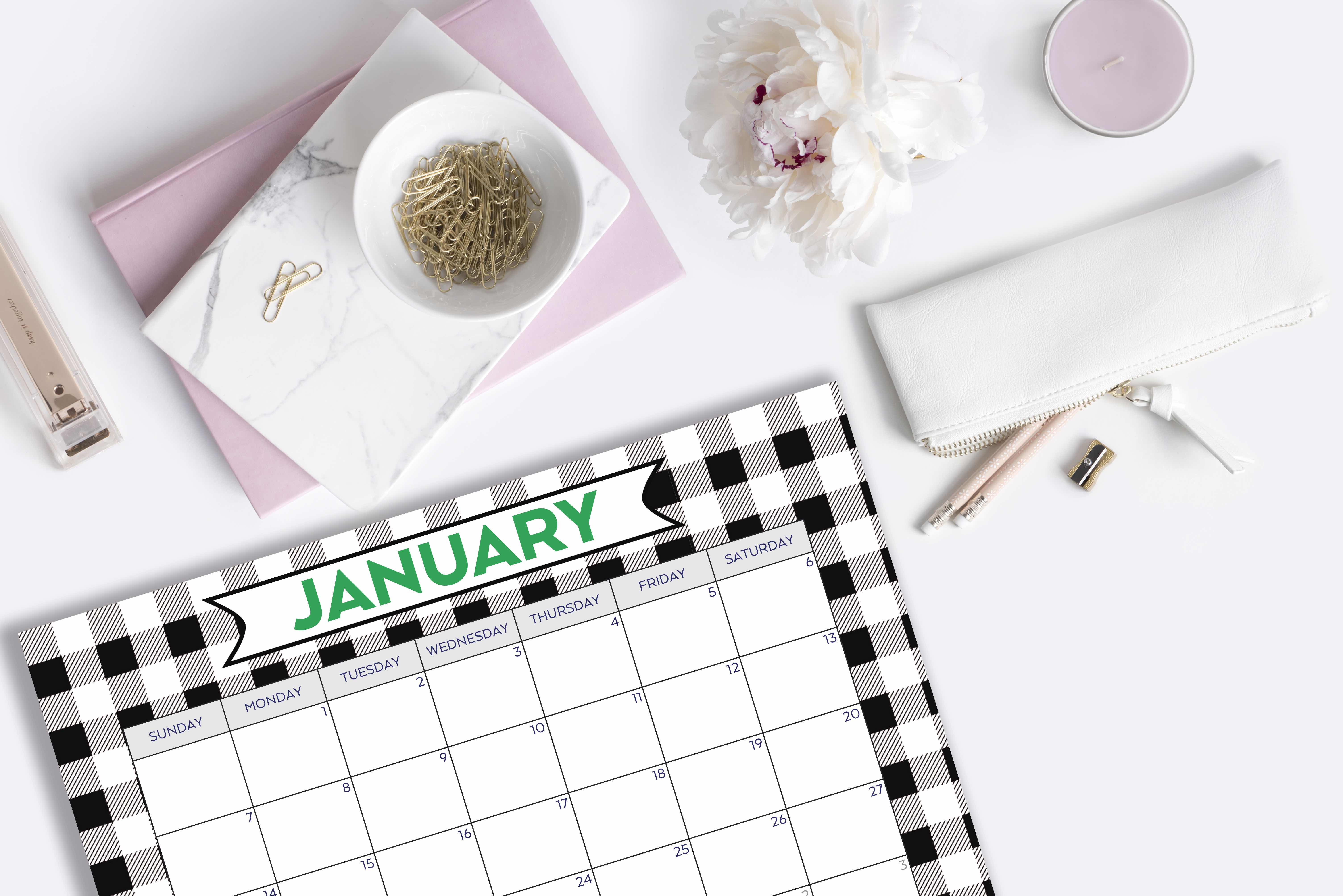 Happy New Year and a FREE Calendar Download!