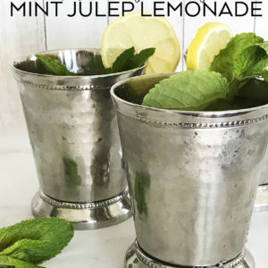 Mint Julep Lemonade Recipe – Kentucky Derby Party Ideas
