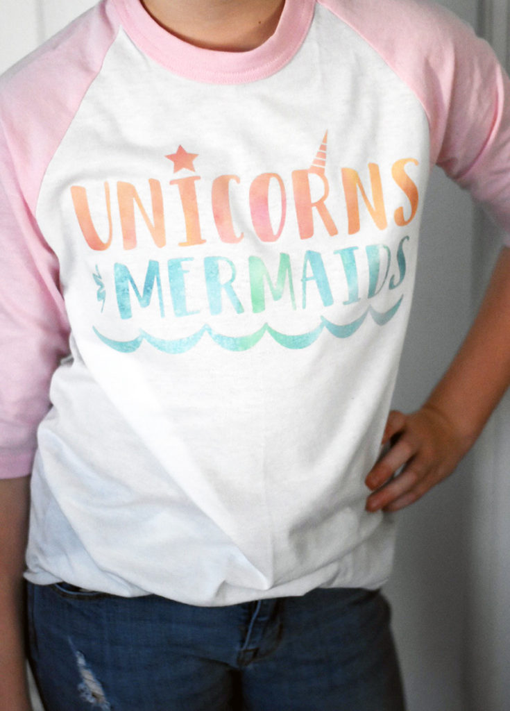 Cricut Unicorn Shirt Cricut Mermaid Shirt Patterned