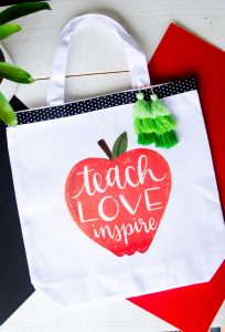 Last-Minute Teacher Appreciation Gifts with Cricut Iron-On Designs