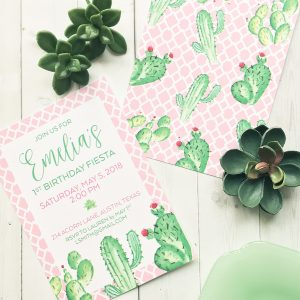 New Fiesta Invitations in the Pineapple Paper Co. Shop!