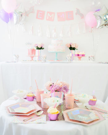 Magical Unicorn Birthday Party with Cricut