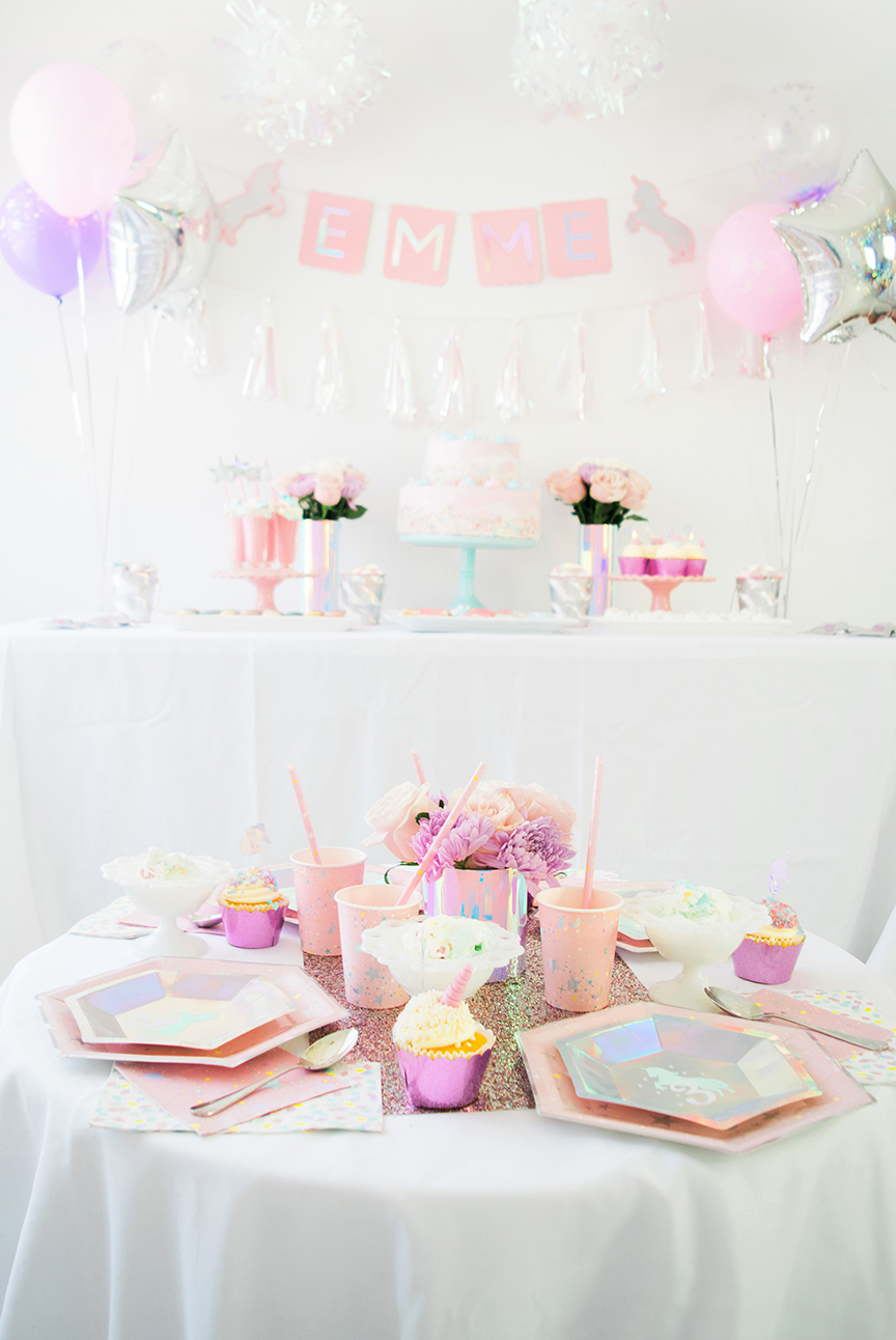 Unicorn Birthday Party Martha Stewart Cricut Pineapple