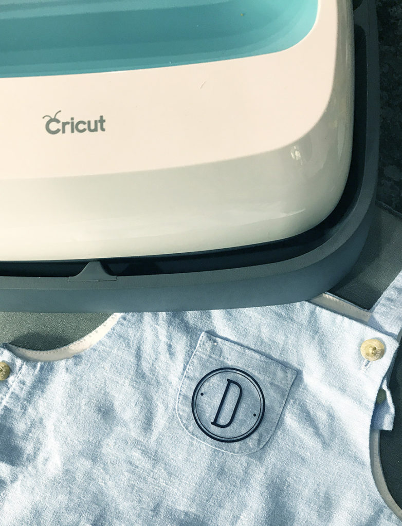 DIY Monogrammed Baby Boy Outfit with Cricut Iron On