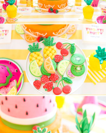 Colorful Tutti (Two-tti) Fruity Party Ideas