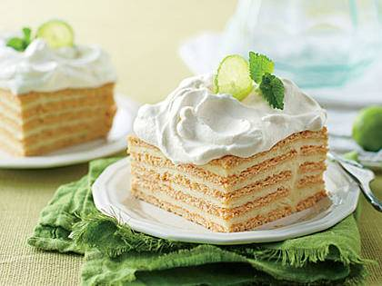 Key Lime Ice Box Cake from Southern Living