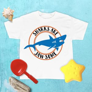 DIY Shark Week Shirt Designs on Cricut Design Space