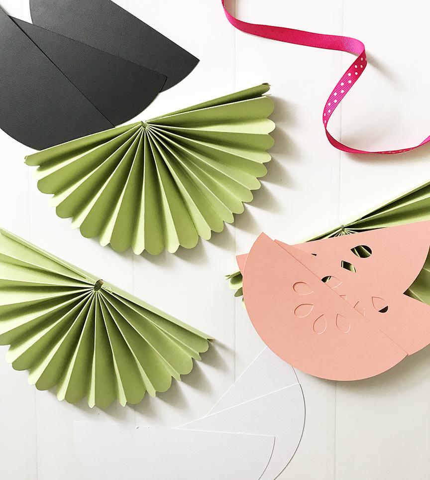 Creating a DIY Watermelon Banner