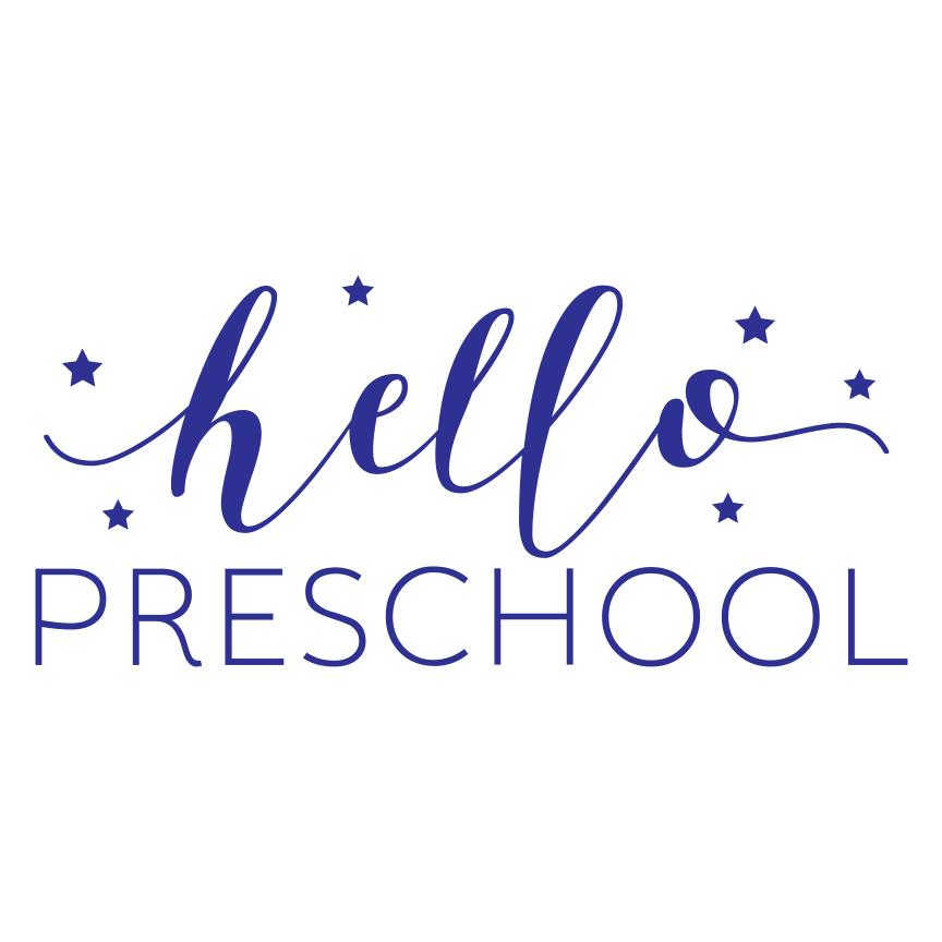 Hello Preschool SVG by Pineapple Paper Co.