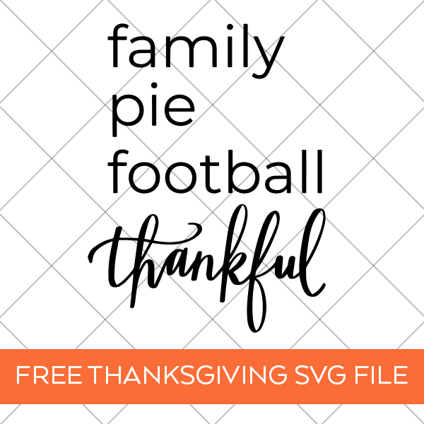FREE Thanksgiving SVG File by Pineapple Paper Co.