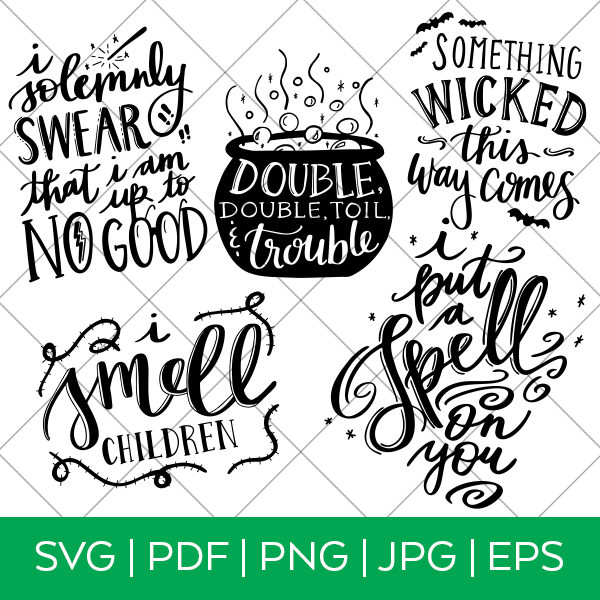 Halloween SVG Bundle designed by Pineapple Paper Co.
