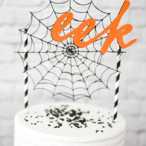 Make a Halloween Cake Topper with Cricut, Martha Stewart, and Michaels