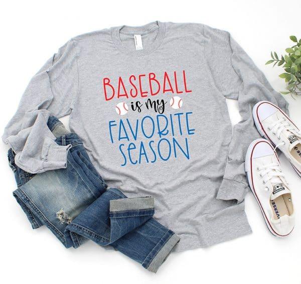 Baseball is my Favorite Season SVG File by Pineapple Paper Co.