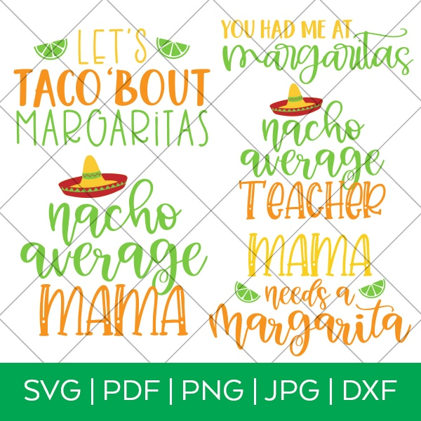Cinco de Mayo SVG Bundle for Cricut and Silhouette by Pineapple Paper Co