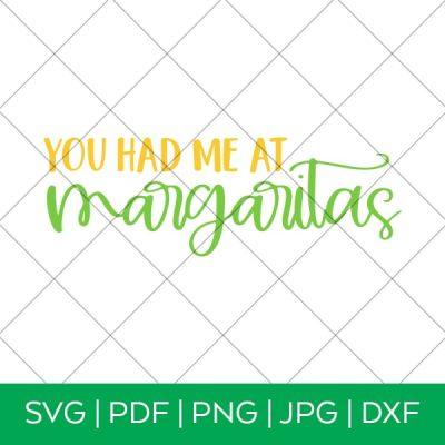 You Had Me at Margaritas – Cinco de Mayo SVG