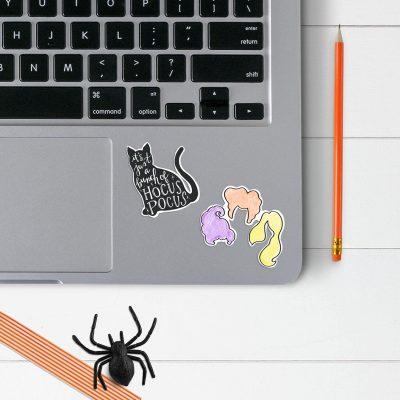 Printable Hocus Pocus Stickers