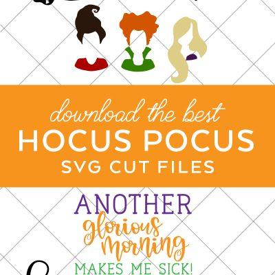 15+ Hocus Pocus SVG Files – Best Files for 2021