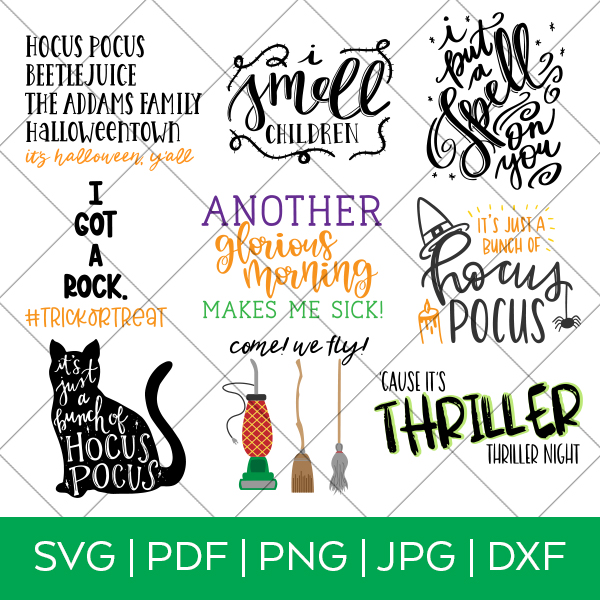 Halloween Movie SVG Bundle by Pineapple Paper Co.