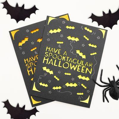 DIY Cricut Joy Halloween Card with Free SVG