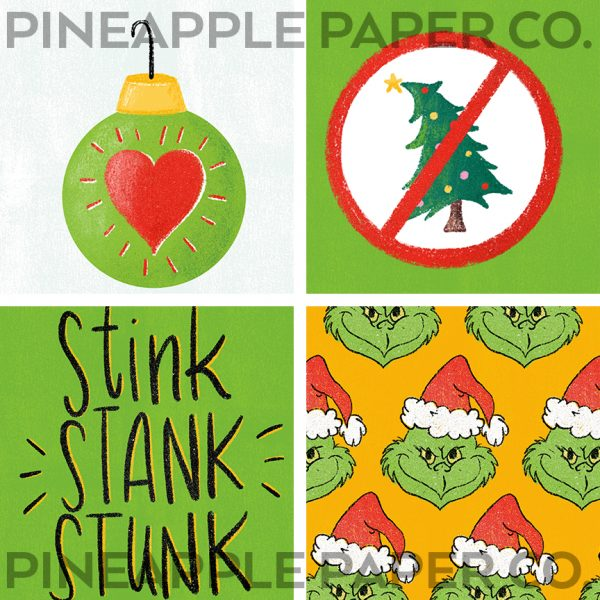 Grinch Inspired Christmas Aesthetic App and Widget Icon Ideas