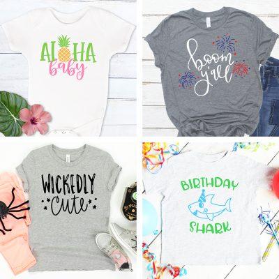 Cricut Shirt Ideas