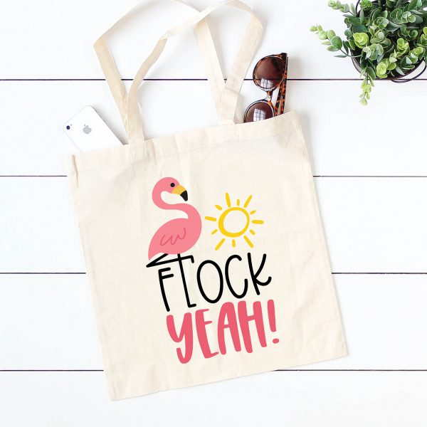 Flock Yeah DIY Flamingo Tote
