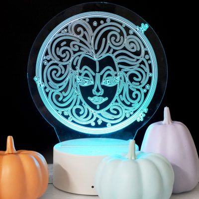 Make an Acrylic Night Light with your Glowforge and a Free SVG File
