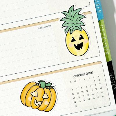 Cute Halloween Stickers for Cricut Print then Cut